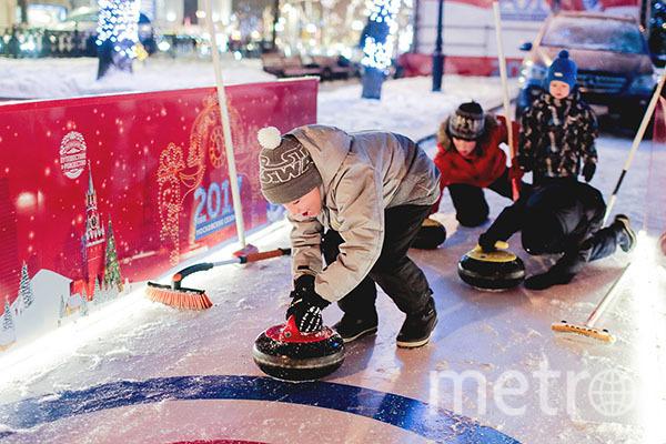 Зимних видов спорта больше, чем вы думаете. Фото «Путешествие в Рождество»