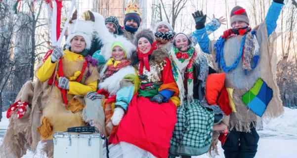 Колядки устроят в парке Горького.