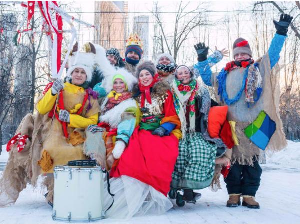Колядки устроят в парке Горького. Фото mos.ru
