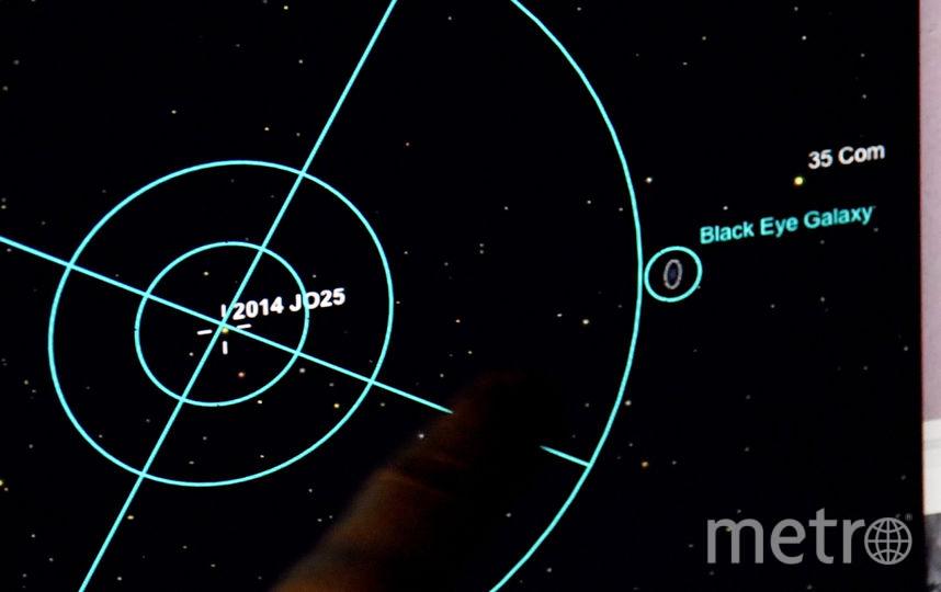 Между Землей и Луной пролетит мощный астероид. Фото Getty