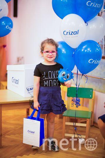Представители салона оптики бесплатно проверили детям зрение и предложили самостоятельно выбрать оправу.