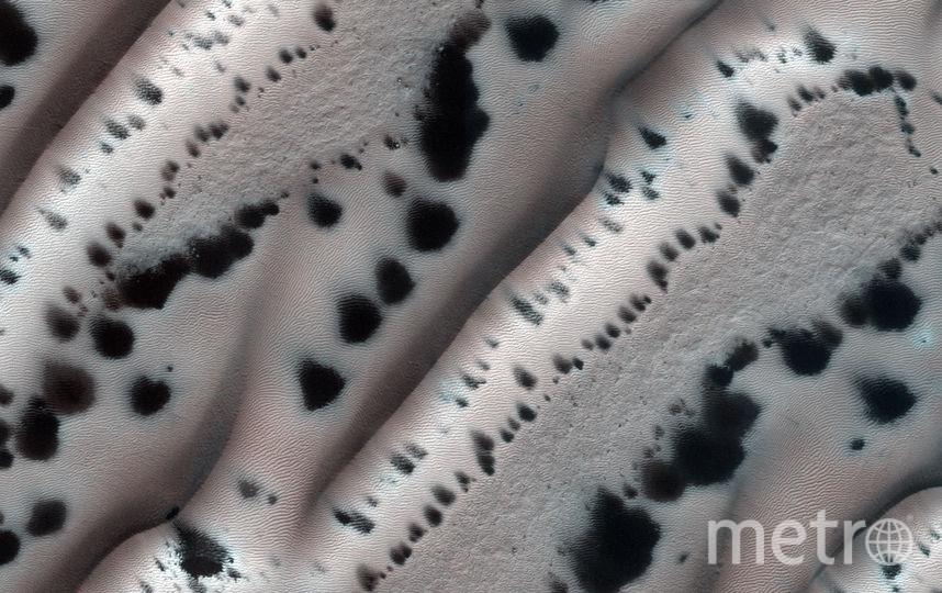 Снимок Марса межпланетной станцией Mars Reconnaissance Orbiter. Фото NASA