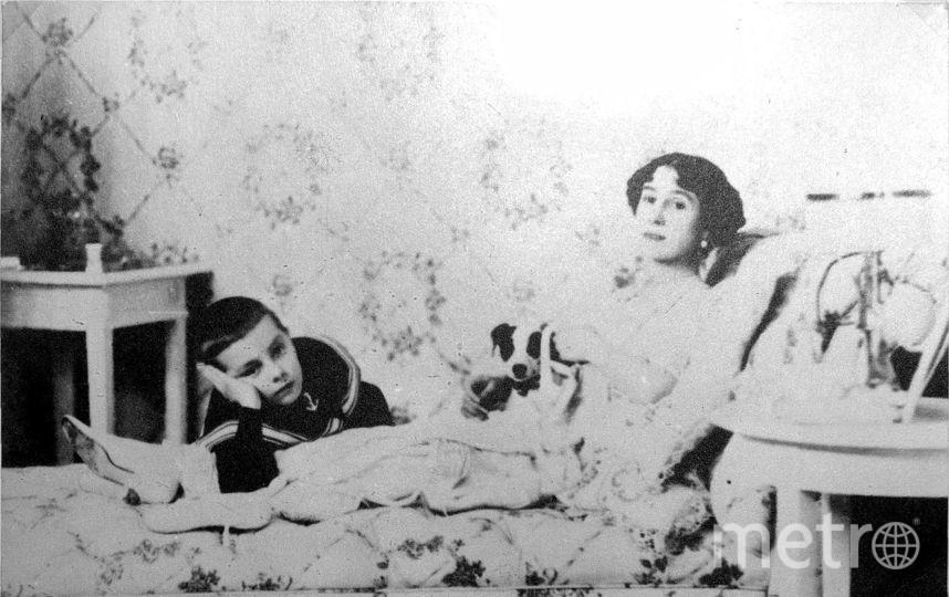 Матильда с сыном. Фото Wikipedia/Государственный музей политической истории России