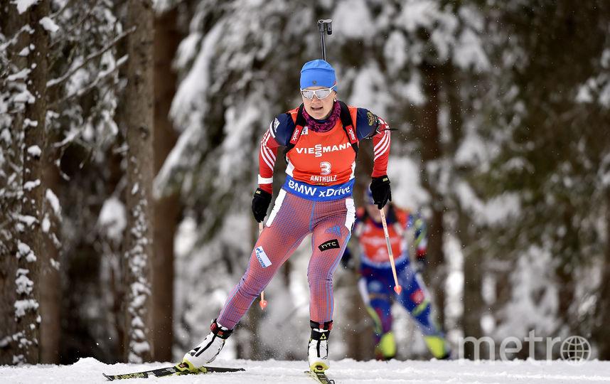 Российская биатлонистка Екатерина Юрлова-Перхт. Фото Getty