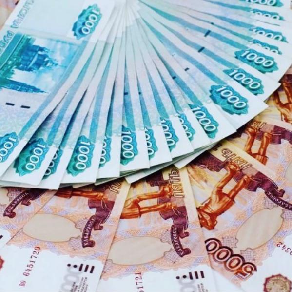 Рублёвые купюры. Фото Скриншот Instagram: shaimikamamaz