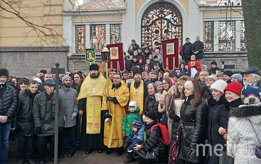 Крестный ход 1 января. Фото Предоставлено организаторами