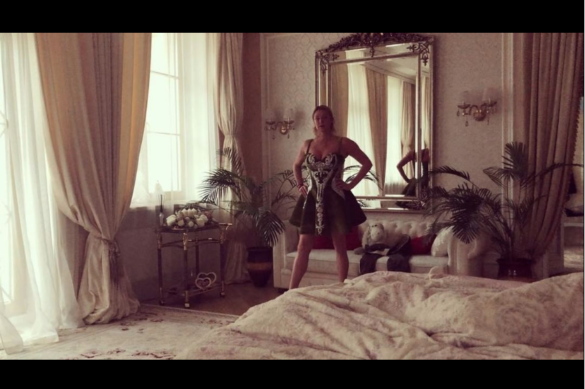 Ранее Волочкова поделилась видео из спальни. Фото instagram.com/volochkova_art