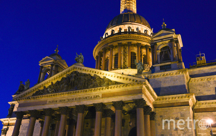 """Исаакиевский собор, Санкт-Петербург. Фото Василий Кузьмичёнок, """"Metro"""""""