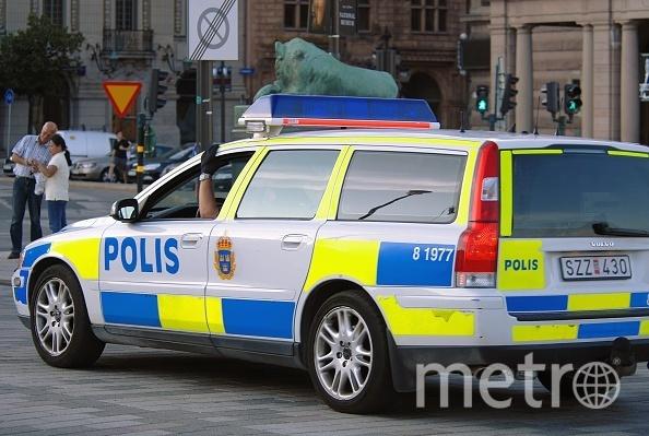 Cтокгольмская полиция. Фото Getty