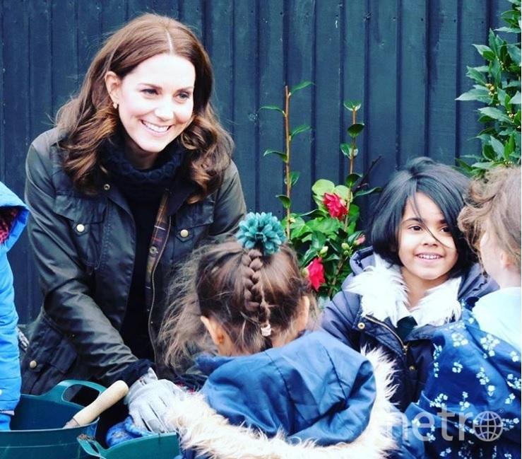 Герцогиня Кэтрин. Фото instagram.com/kensingtonroyal