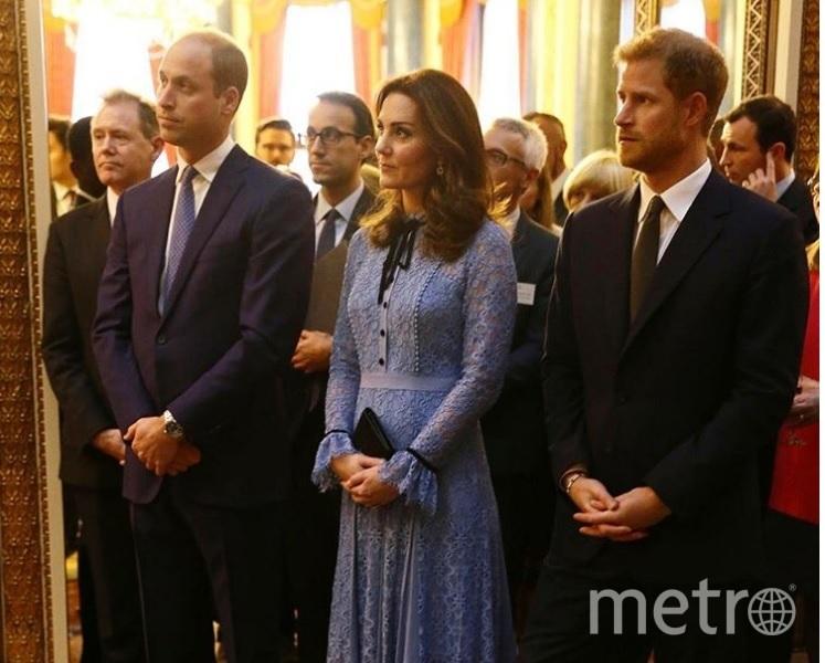 Принц Уильям, герцогиня Кэтрин и принц Гарри. Фото instagram.com/kensingtonroyal
