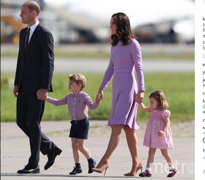 Принц Уильям и герцогиня Кэтрин с детьми. Фото instagram.com/kensingtonroyal