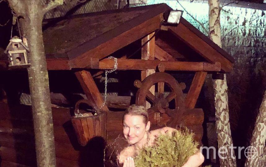 """В начале января Волочкова поделилась """"горячими фото"""". Фото instagram.com/volochkova_art"""