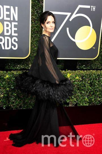 Актрисы на Golden Globe Awards. Анджелина Джоли. Фото Getty