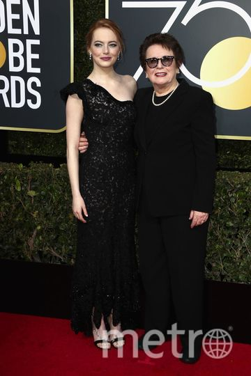 Актрисы на Golden Globe Awards. Эмма Стоун. Фото Getty