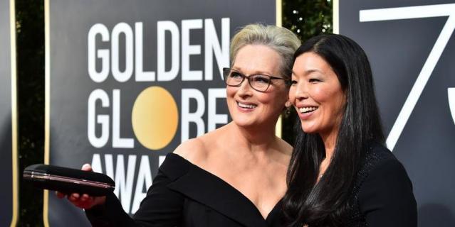 Актрисы на Golden Globe Awards. Мерил Стрип.