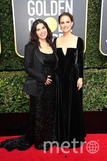 Актрисы на Golden Globe Awards. Натали Портман. Фото Getty