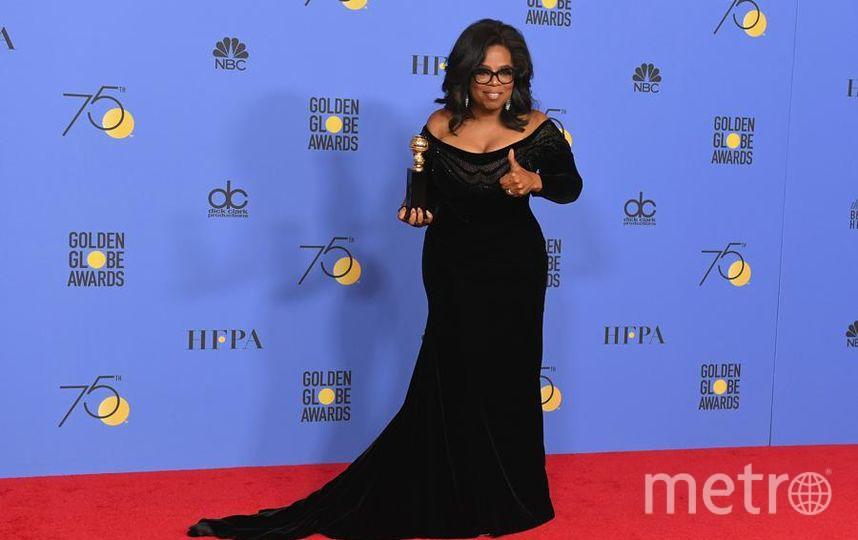 Актрисы на Golden Globe Awards. Опра Уинфри. Фото Getty
