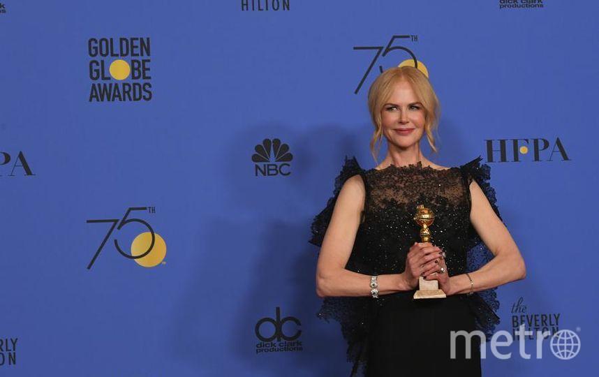 Актрисы на Golden Globe Awards. Николь Кидман. Фото Getty