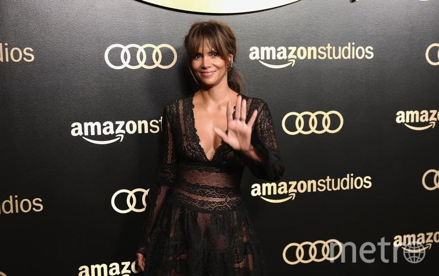 Актрисы на Golden Globe Awards. Холли Берри. Фото Getty