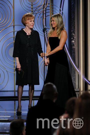 Актрисы на Golden Globe Awards. Дженнифер Энистон. Фото Getty
