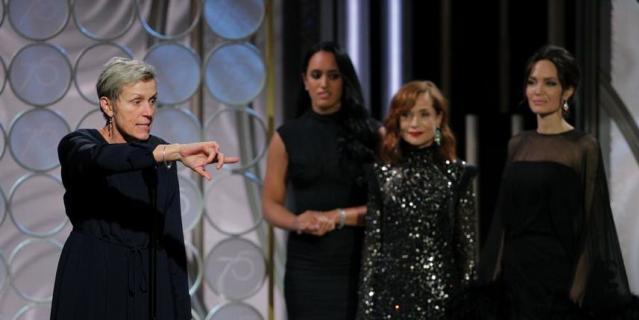 Актрисы на Golden Globe Awards. Фрэнсис Макдорманд.