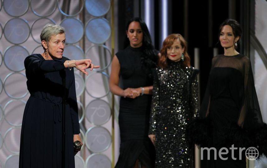 Актрисы на Golden Globe Awards. Фрэнсис Макдорманд. Фото Getty