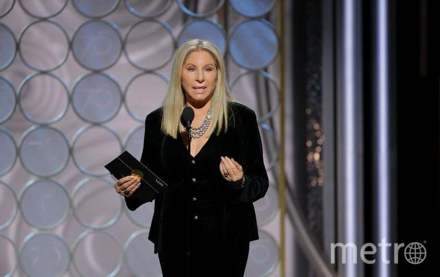 Актрисы на Golden Globe Awards. Барбра Стрейзанд. Фото Getty