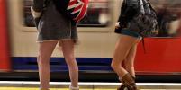 Пассажиры метро в разных странах мира проехались без штанов – фото