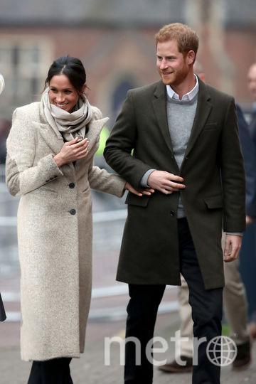 Принц Гарри и Меган Маркл 9 января. Фото Getty