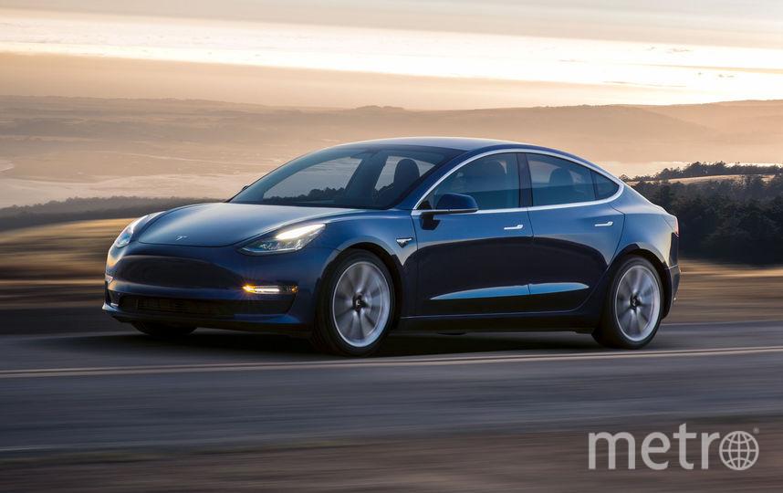 Tesla Model 3. Фото предоставлены компаниями.