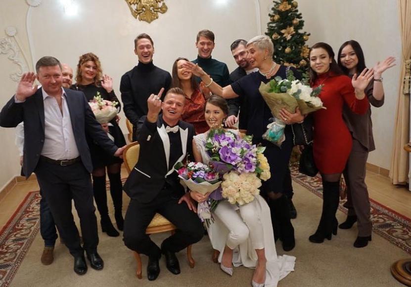 Дмитрий Тарасов и Анастасия Костенко поженились. Фото все - скриншот https://www.instagram.com/tarasov23/