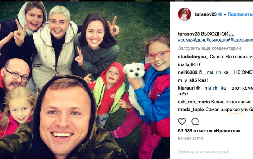 Дмитрий Тарасов - фотоархив. Фото все - скриншот https://www.instagram.com/tarasov23/