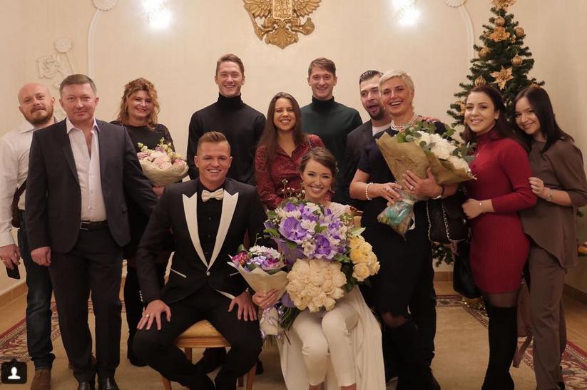 Дмитрий Тарасов и Анастасия Костенко поженились. Фото https://www.instagram.com/kostenko.94/