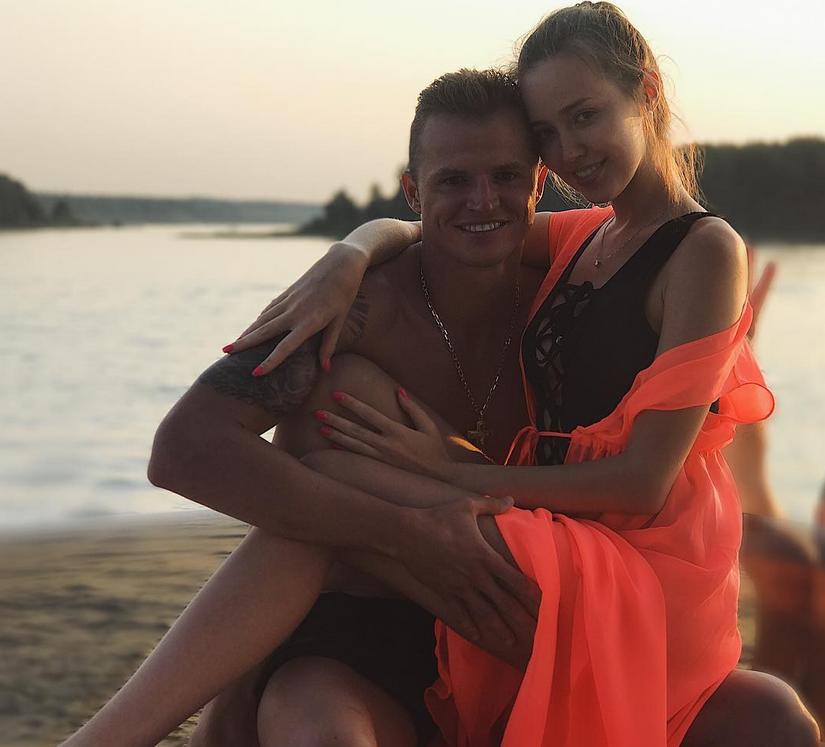 Анастасия Костенко и Дмитрий Тарасов - фотоархив. Фото https://www.instagram.com/kostenko.94/