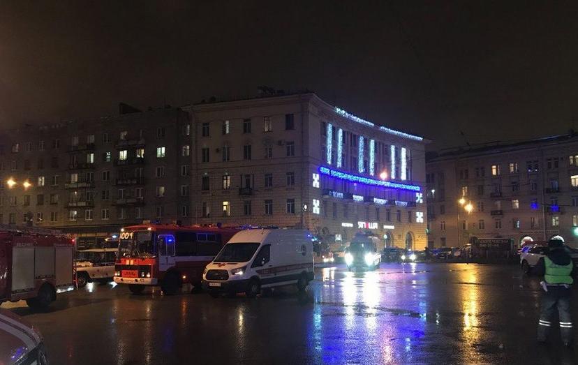 Взрыв в супермаркете Петербурга. Фото Фото ДТП и ЧП   Санкт-Петербург   vk.com/spb_today., vk.com