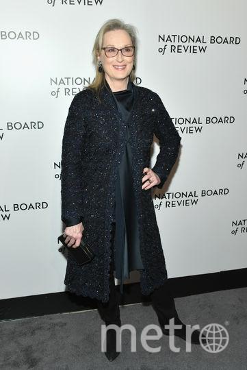 Звезды на National Board of Review Awards Gala. Мэрил Стрип. Фото Getty