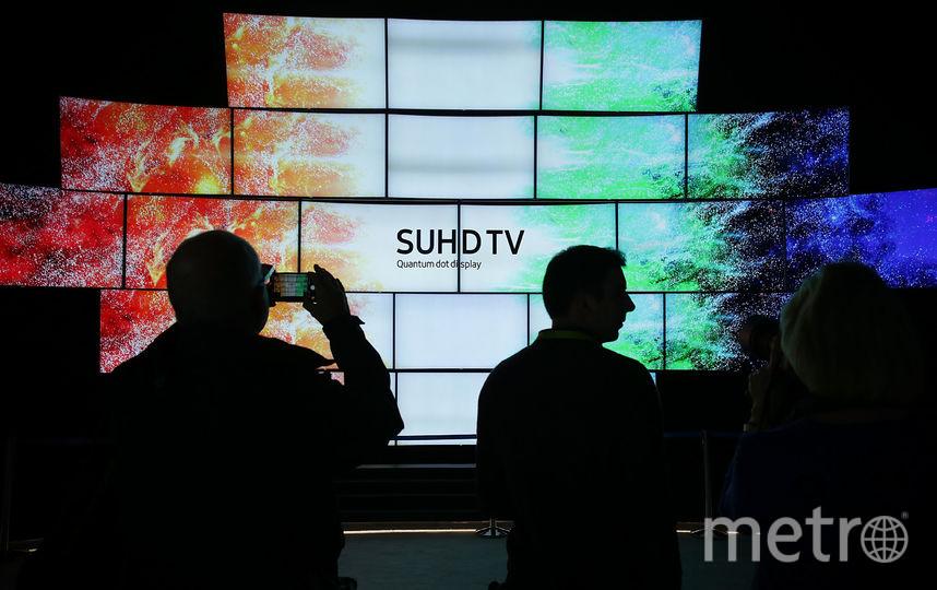 Экспонаты выставки электроники в Лас-Вегасе. Фото Getty