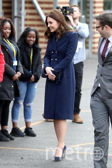 Герцогиня Кембриджская посетила 10 января школу Reach Academy Feltham. Фото Getty