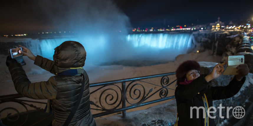 В Канаде из-за холодов замёрз Ниагарский водопад – потрясающие фото