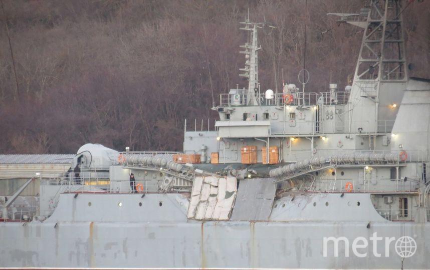 "Российское судно ""Ямал"". Фото vk.com/rusflot, Артём Балабин."