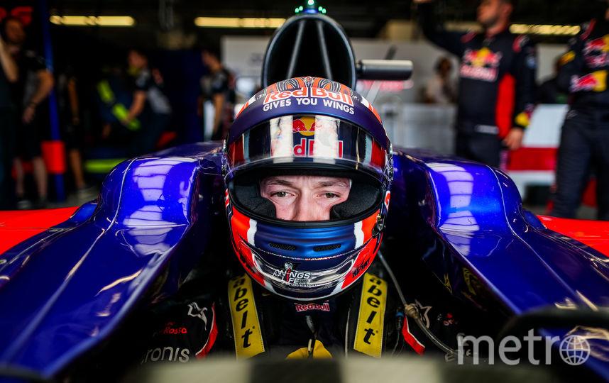 Российский гонщик Даниил Квят. Фото Getty