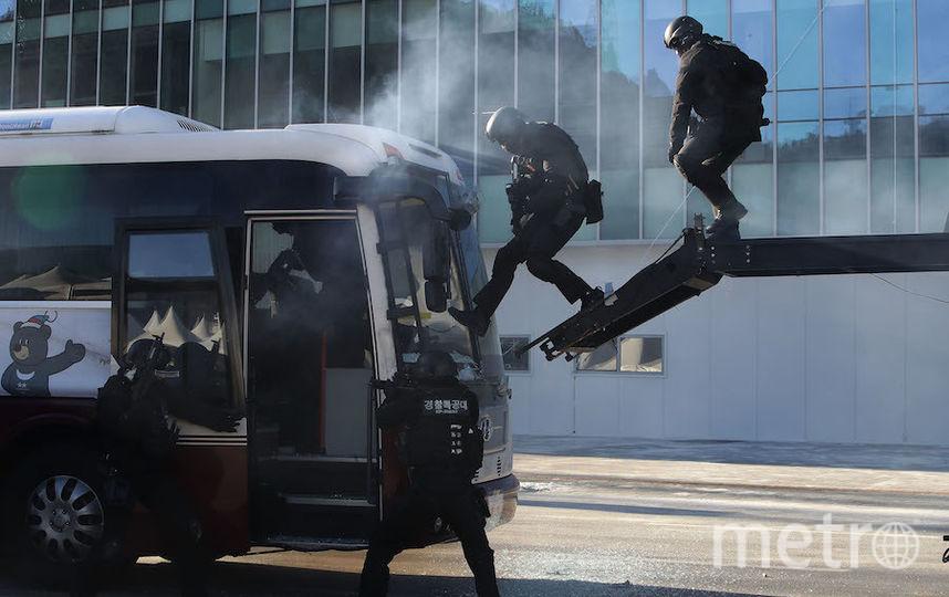 Антитеррористические учения. Фото Getty