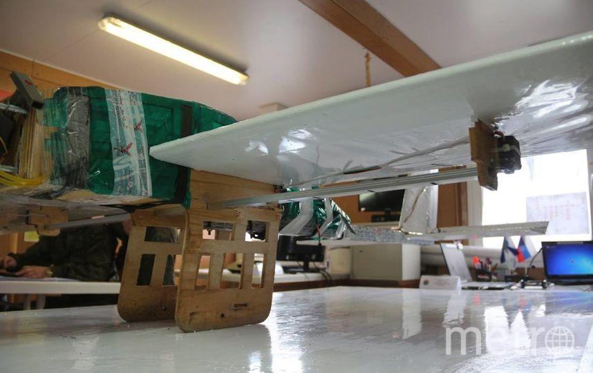 Внешний вид беспилотника плохо гармонирует с представлением о высоких технологиях. Фото facebook.com|mod.mil.rus
