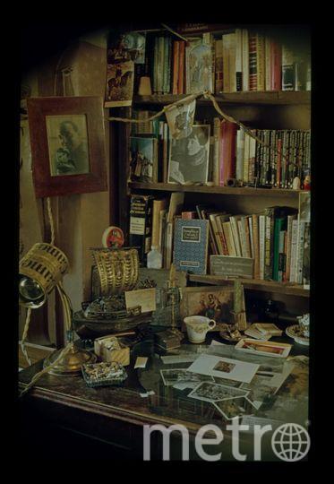 Полукомната Бродского в день отъезда 4 июня 1972 года. Фото Мильчика. Предоставлено Фондом создания музея И. Бродского