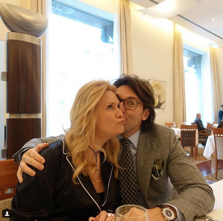 Андрей Малахов с женой. Фото Скриншот Instagram: @malakhov007