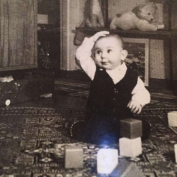 Андрей Малахов в детстве. Фото Скриншот Instagram: @malakhov007