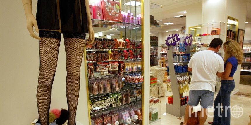 Магазин интимных товаров. Фото Getty
