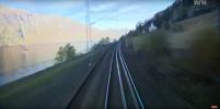 В Сети набирает популярность канал с видами из кабины машиниста поезда