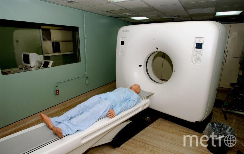 Аппарат для компьютерной томографии. Фото Getty